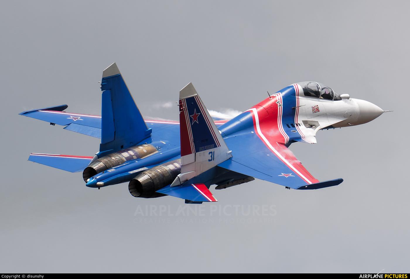 """Russia - Air Force """"Russian Knights"""" RF-81702 aircraft at Langkawi"""