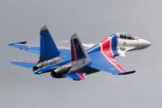 """RF-81702 - Russia - Air Force """"Russian Knights"""" Sukhoi Su-30SM aircraft"""