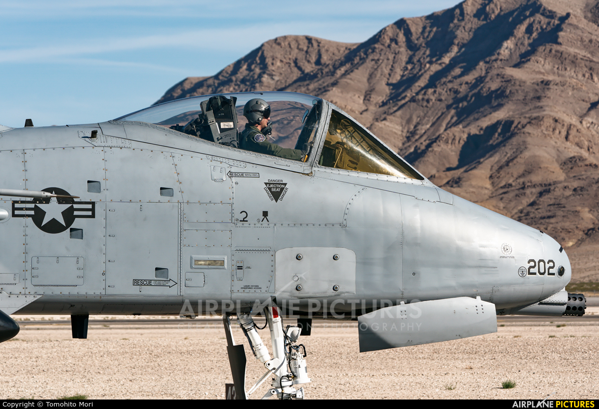 USA - Air Force 79-0202 aircraft at Nellis AFB