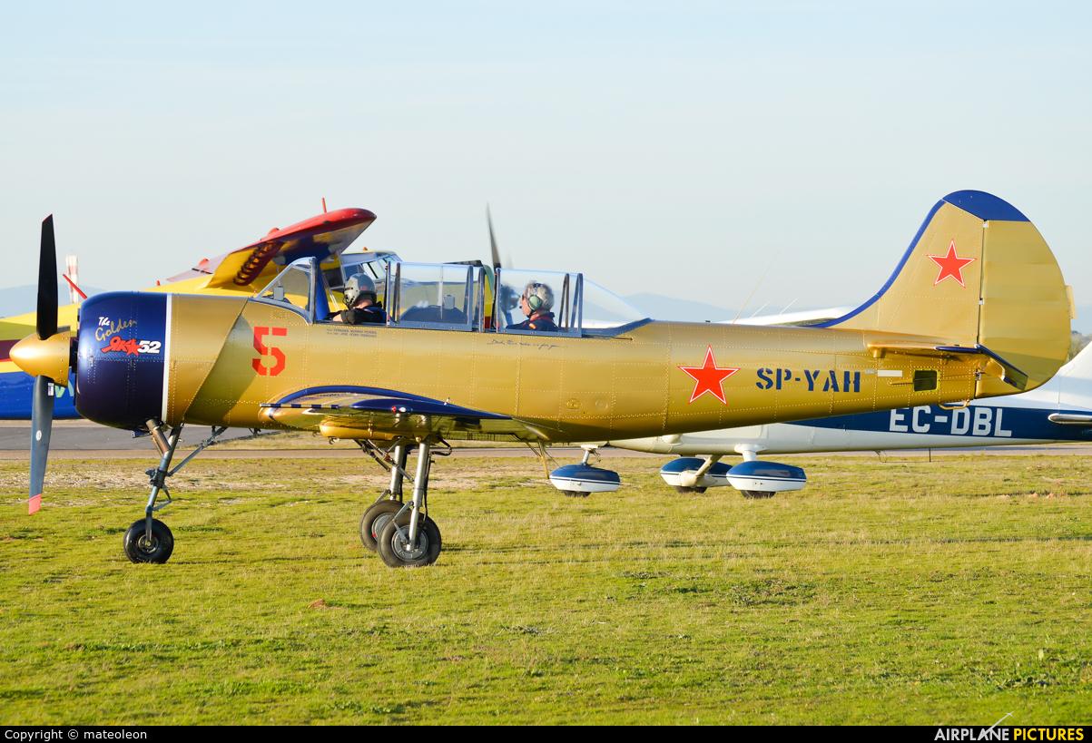 Yakstars SP-YAH aircraft at Casarrubios del Monte