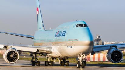 HL7644 - Korean Air Boeing 747-8