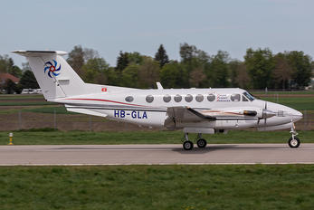 HB-GLA - Swiss Flight Services Beechcraft 200 King Air