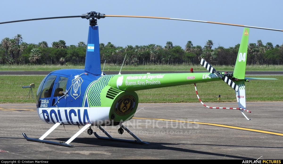 Argentina - Police LV-GWK aircraft at Formosa Intl