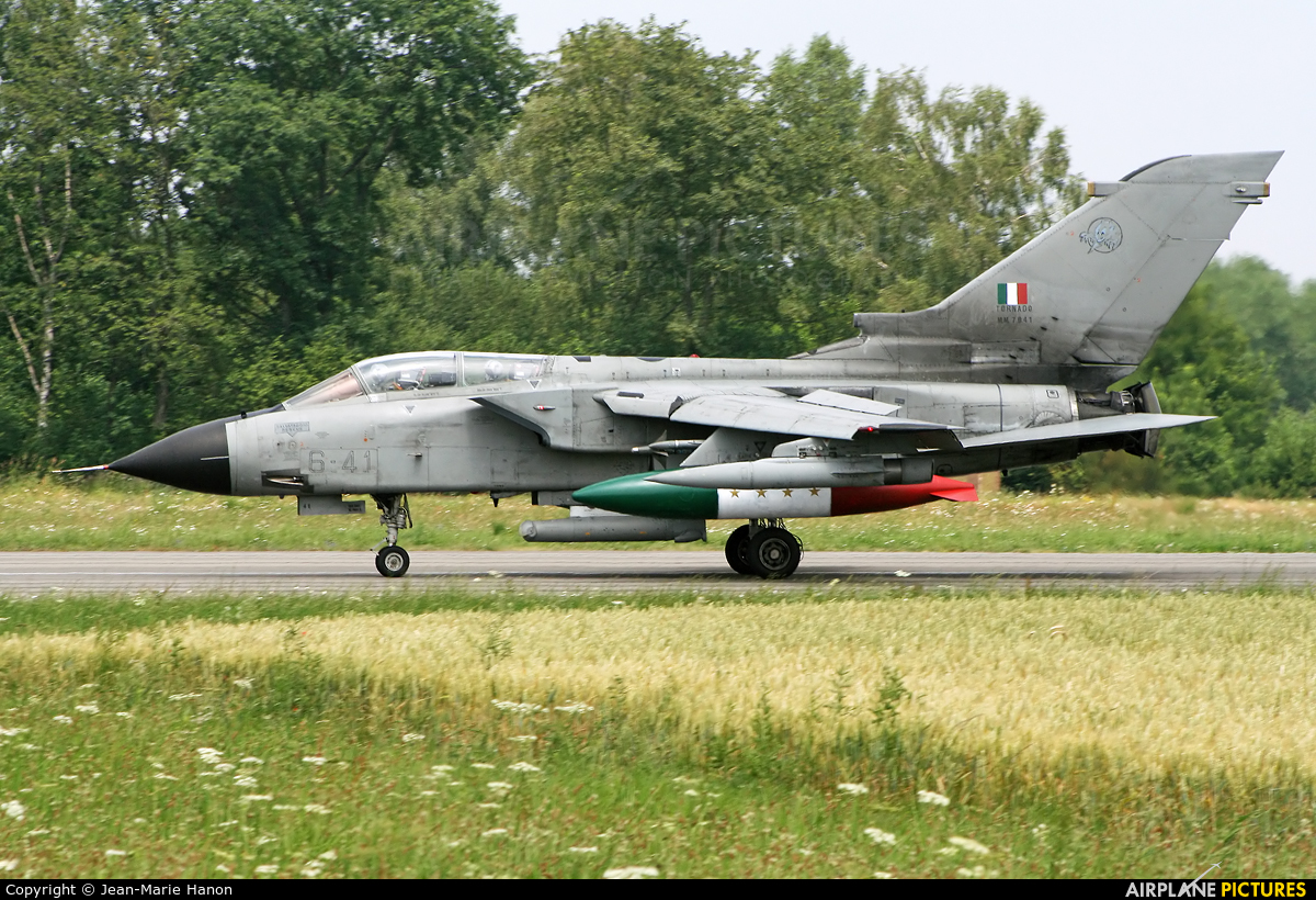 Italy - Air Force MM7041 aircraft at Florennes