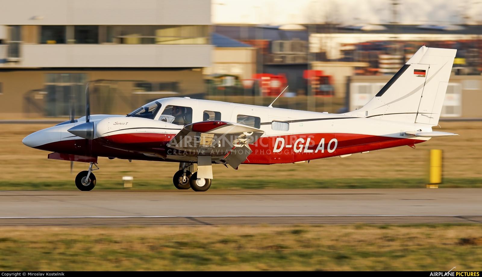 Private D-GLAO aircraft at Ostrava Mošnov