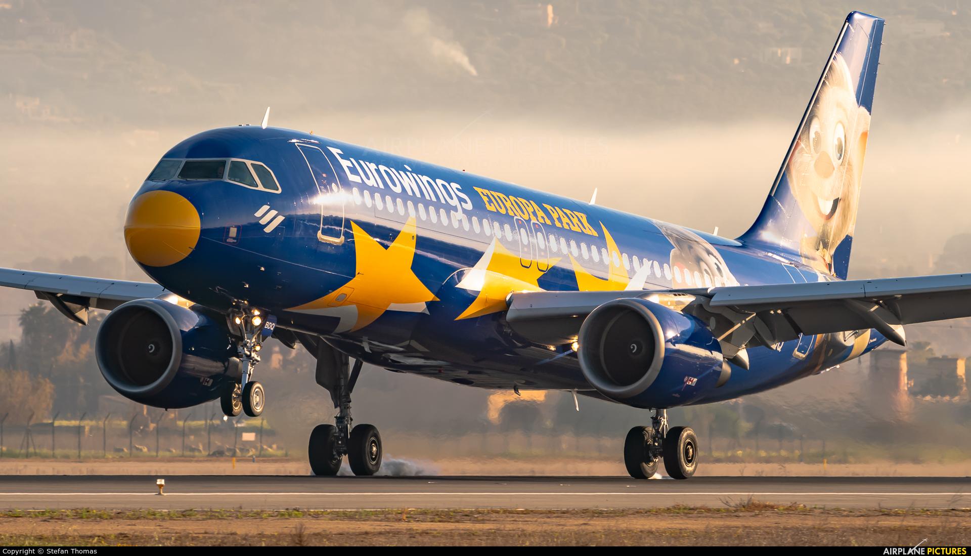 Eurowings D-ABDQ aircraft at Palma de Mallorca