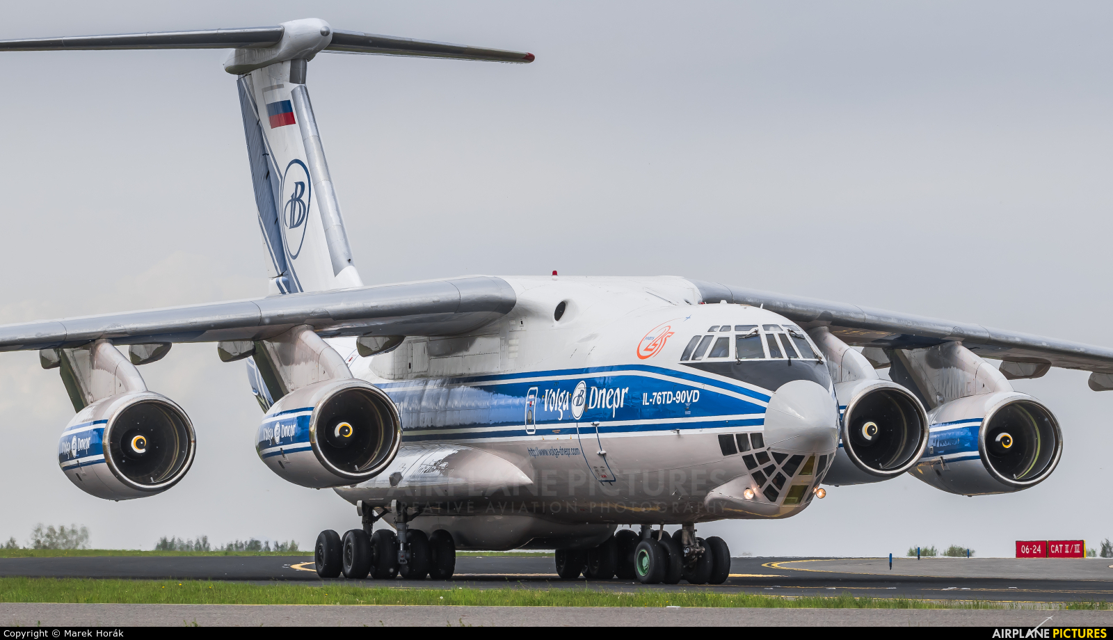 Volga Dnepr Airlines RA-76952 aircraft at Prague - Václav Havel