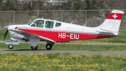 HB-EIU - Private Beechcraft 33 Debonair / Bonanza
