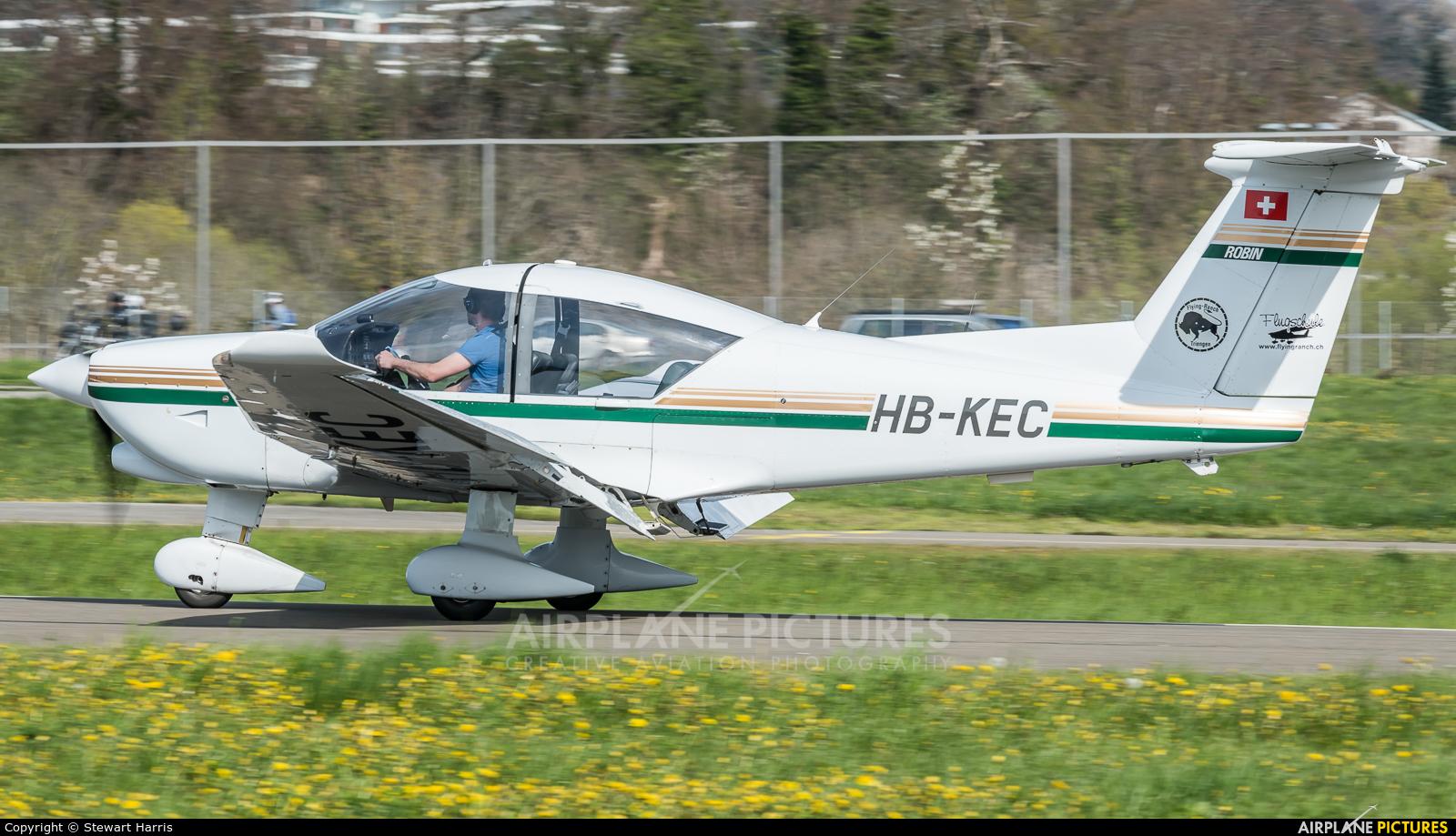 Private HB-KEC aircraft at Lausanne - La Blécherette