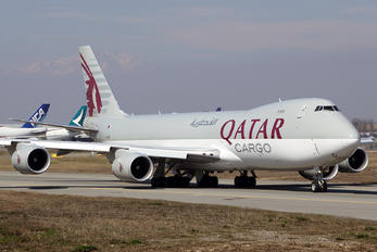A7-BGB - Qatar Airways Cargo Boeing 747-8F