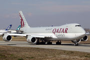 A7-BGB - Qatar Airways Cargo Boeing 747-8F aircraft