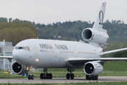 Rare visit of Omega Air Tanker DC-10 to Payerne title=