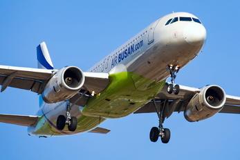 HL8055 - Air Busan Airbus A320