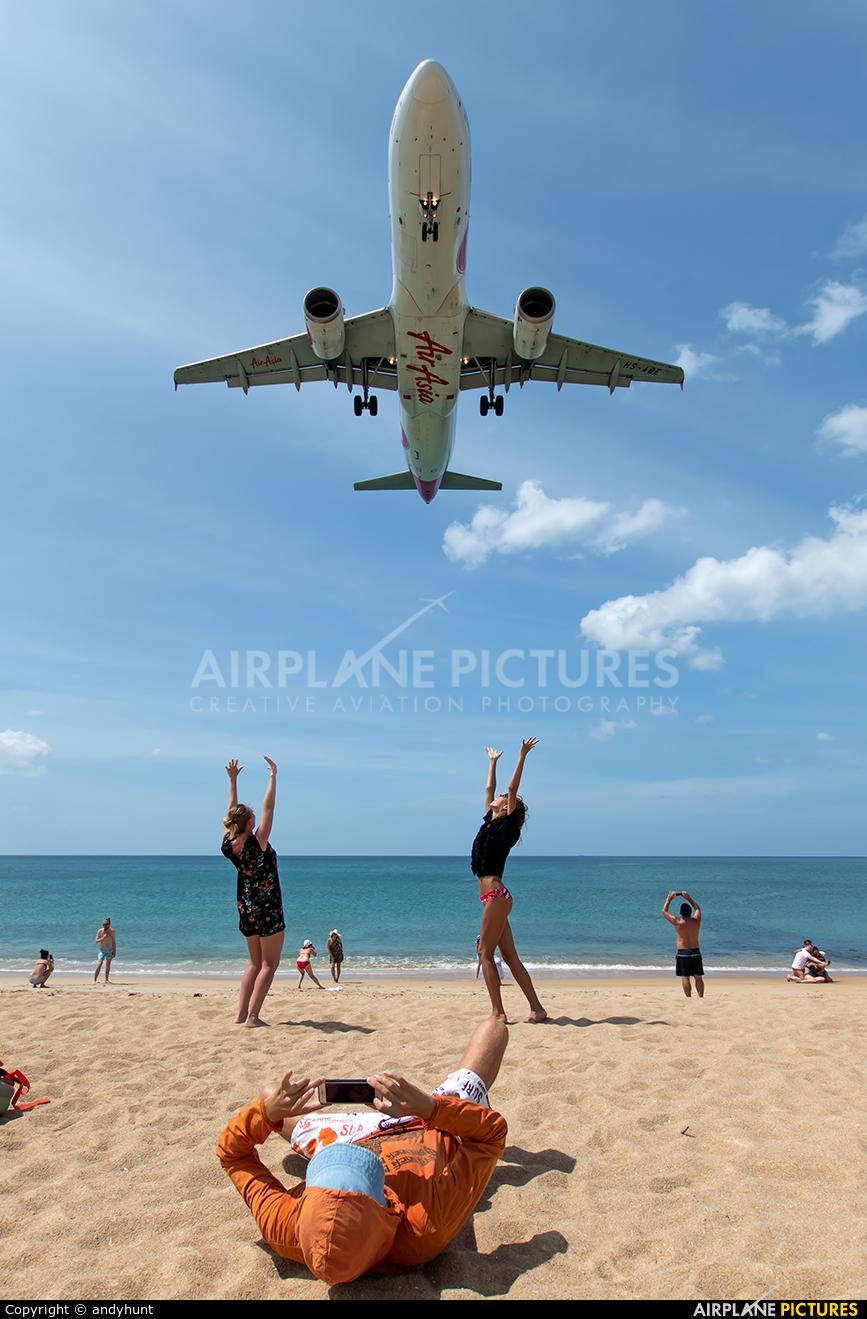 AirAsia (Thailand) HS-ABE aircraft at Phuket