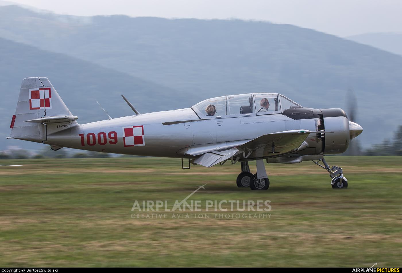 Private SP-YBD aircraft at Bielsko-Biała - Aleksandrowice