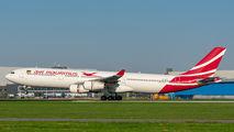 3B-NBE - Air Mauritius Airbus A340-300 aircraft