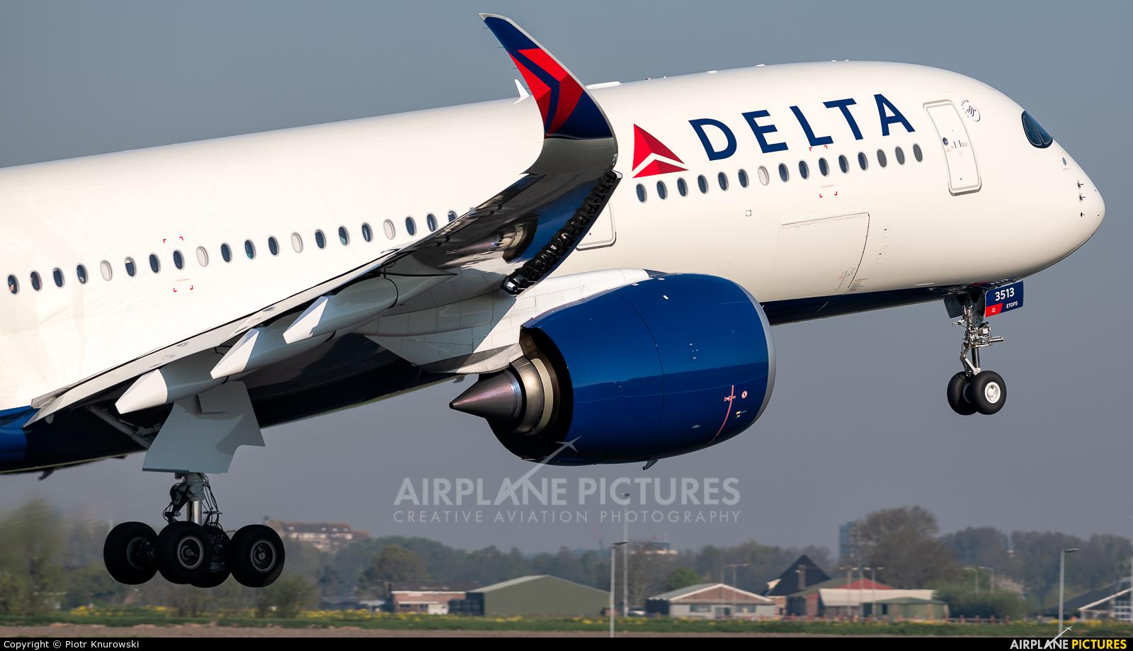 Delta Air Lines N513DZ aircraft at Amsterdam - Schiphol