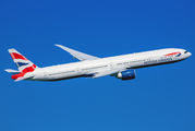 G-STBB - British Airways Boeing 777-300ER aircraft