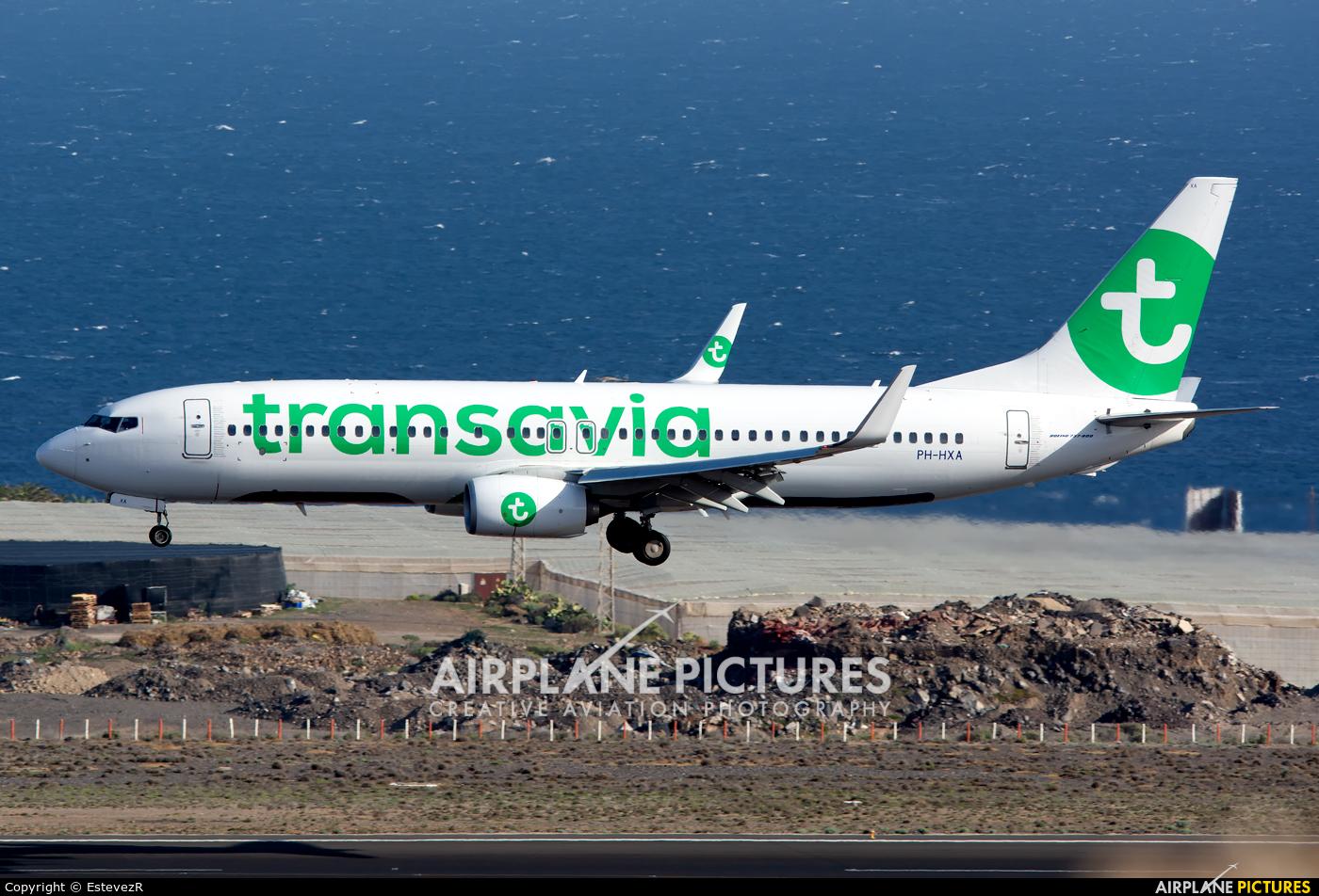 Transavia PH-HXA aircraft at Tenerife Sur - Reina Sofia