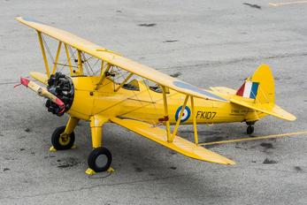 C-FAIU - Canadian Warplane Heritage Boeing Stearman, Kaydet (all models)