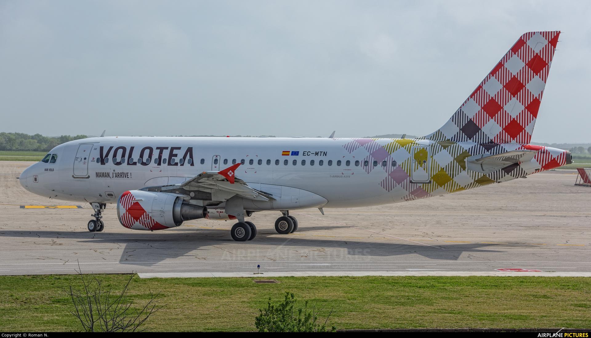 Volotea Airlines EC-MTN aircraft at Pula