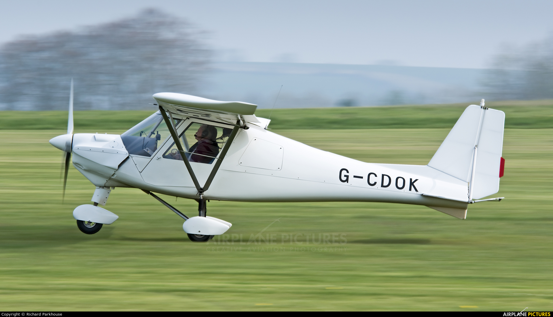 Private G-CDOK aircraft at Old Sarum