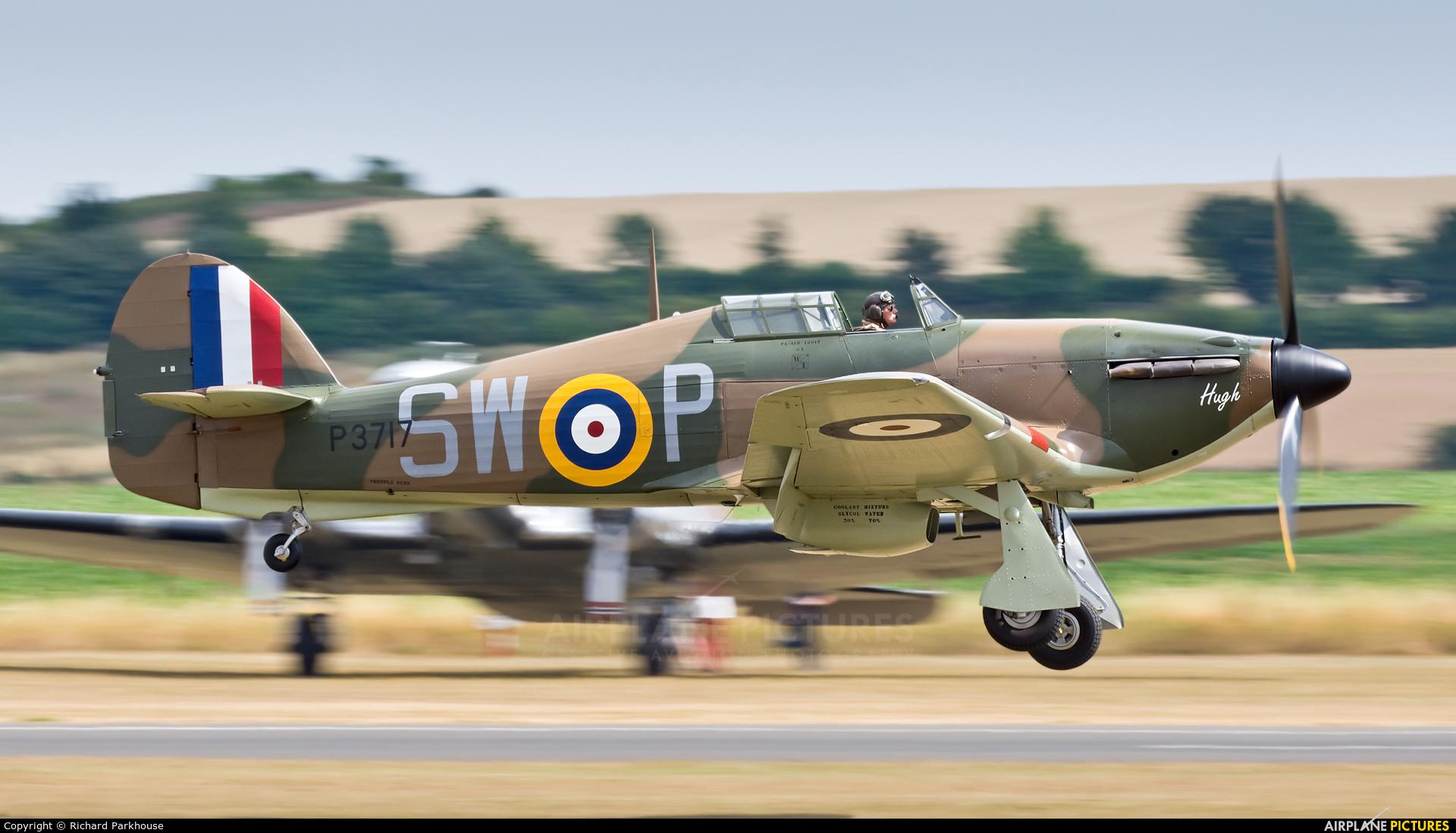 Flying Legends G-HITT aircraft at Duxford