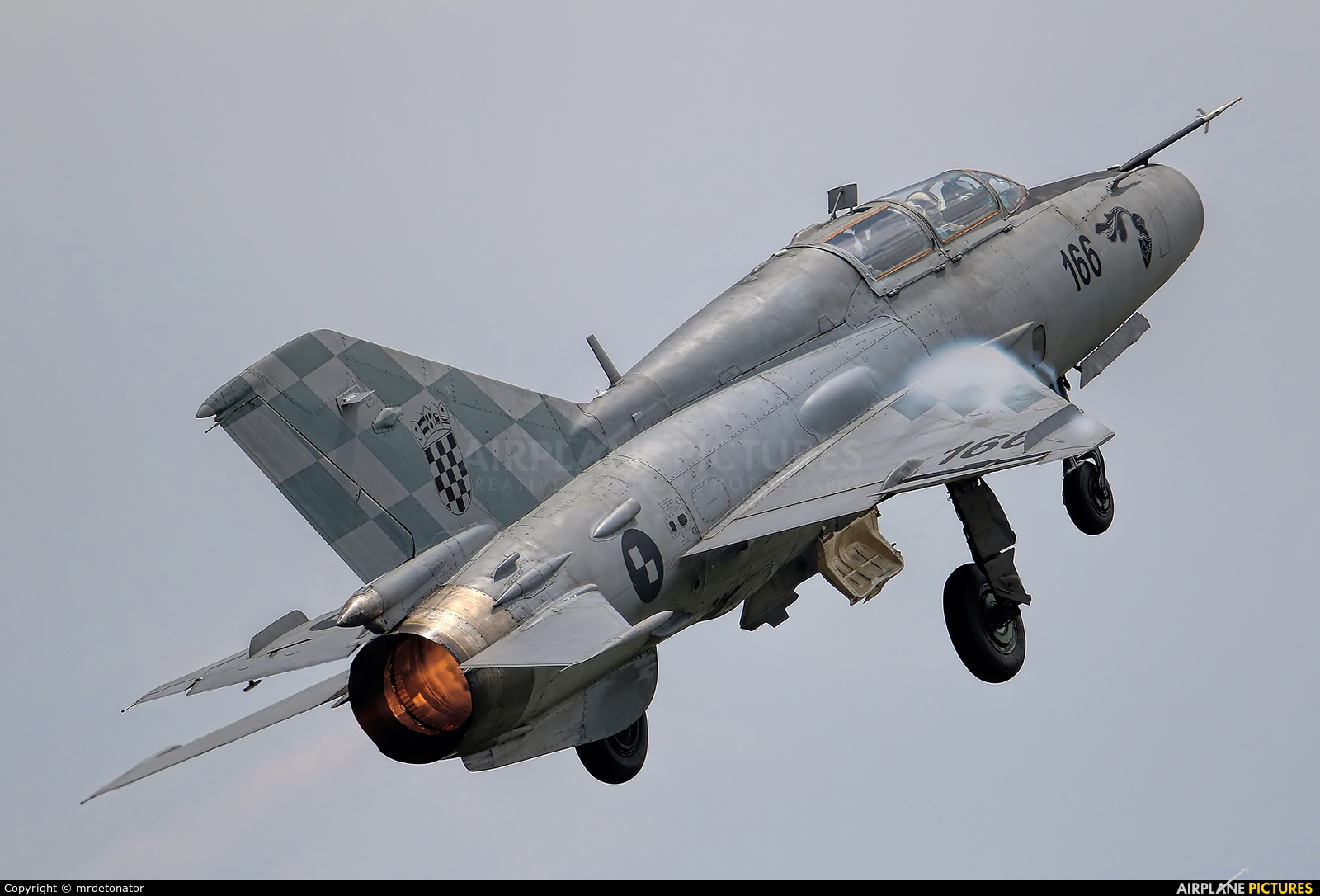 Croatia - Air Force 166 aircraft at Varazdin