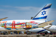 El Al B789 promotes new routes to San Francisco and Las Vegas title=