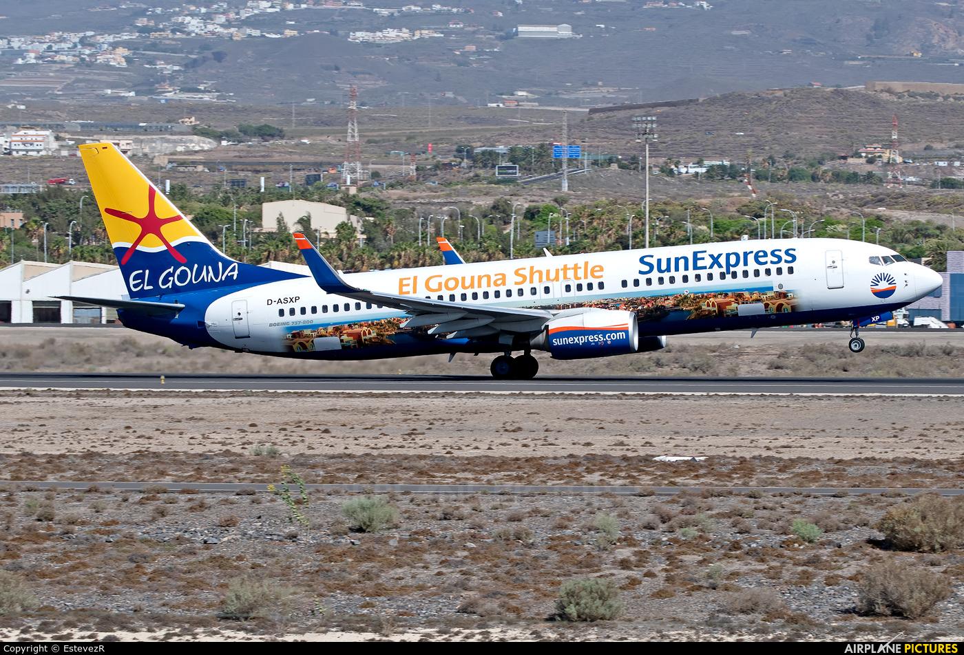 SunExpress Germany D-ASXP aircraft at Tenerife Sur - Reina Sofia