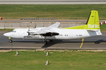 YL-BAR - Air Baltic Fokker 50