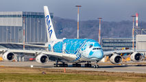 F-WWSH - ANA - All Nippon Airways Airbus A380 aircraft