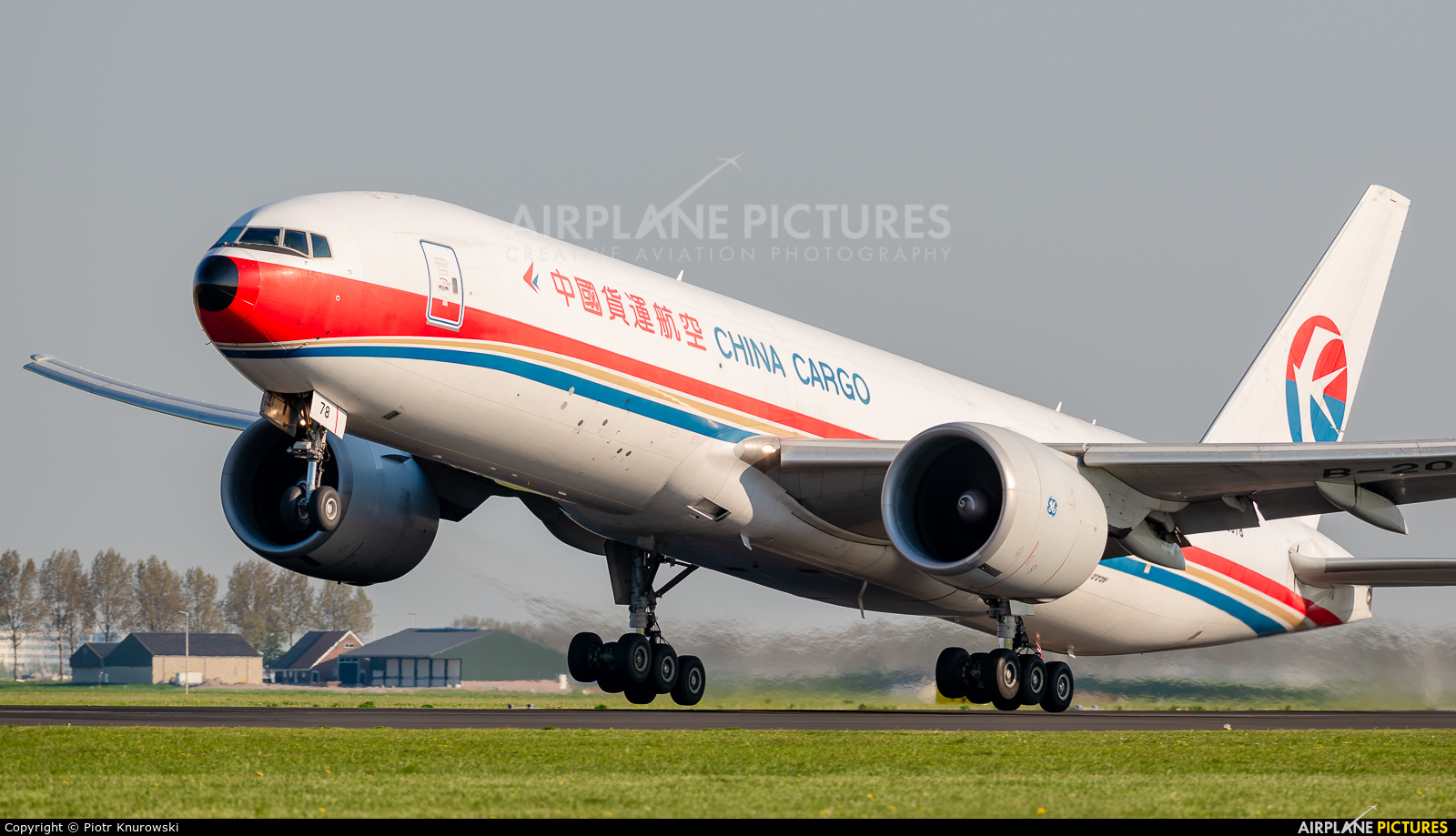 China Cargo B-2078 aircraft at Amsterdam - Schiphol