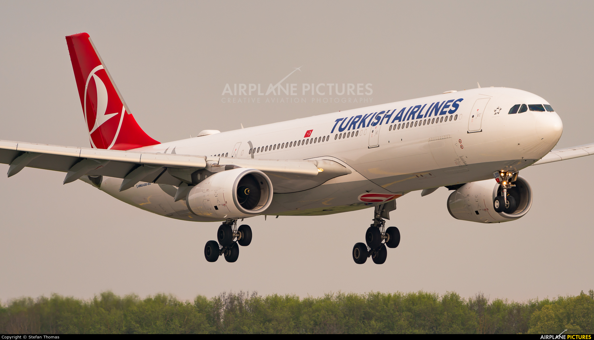 Turkish Airlines TC-LOD aircraft at Munich
