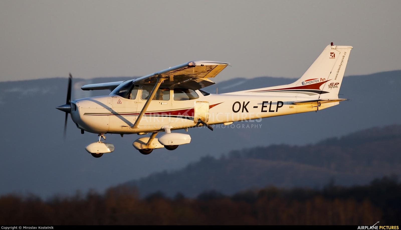 Elmontex Air OK-ELP aircraft at Ostrava Mošnov