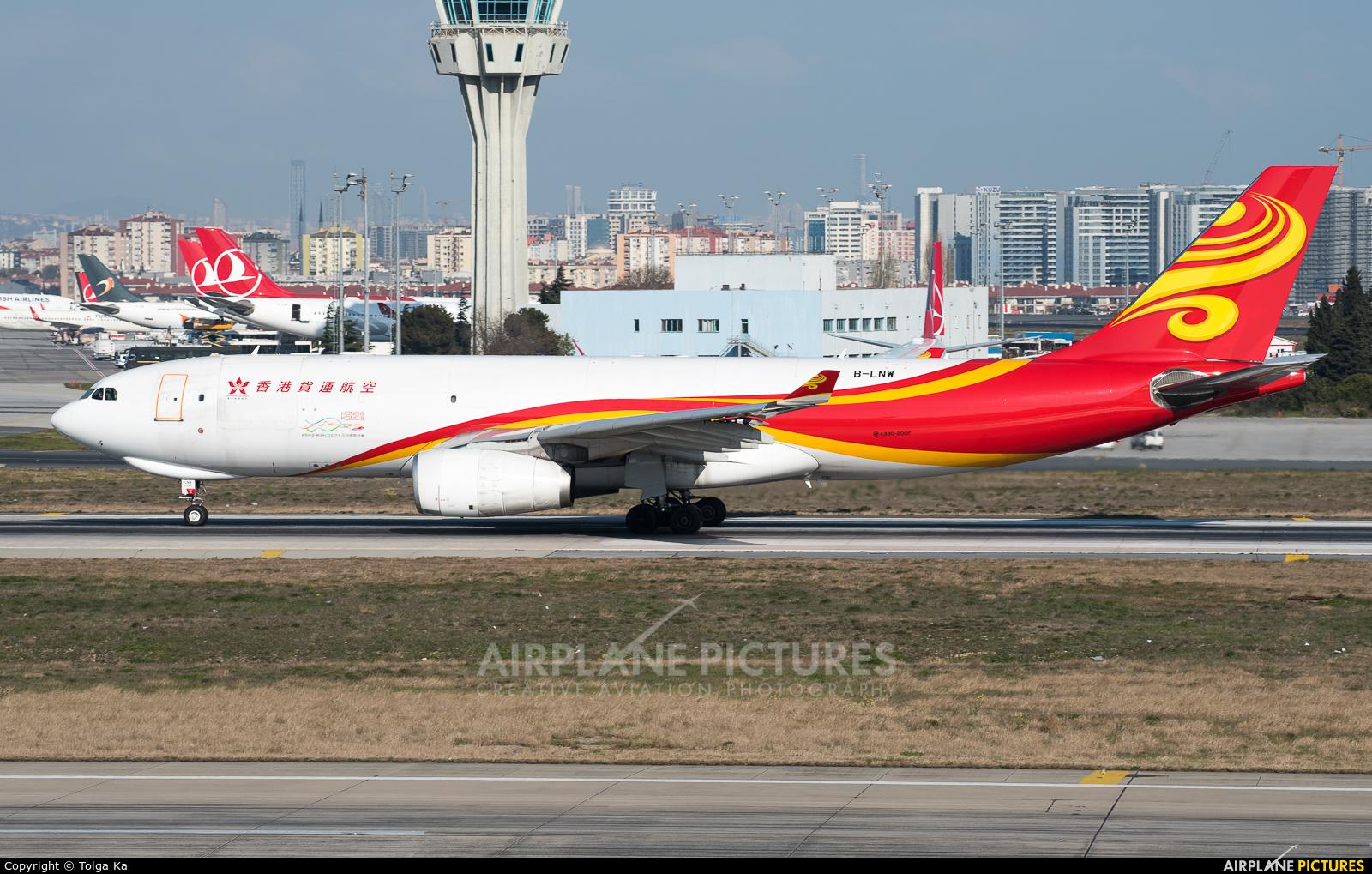 Hong Kong Airlines B-LNW aircraft at Istanbul - Ataturk