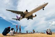 HS-TJU - Thai Airways Boeing 777-200ER aircraft