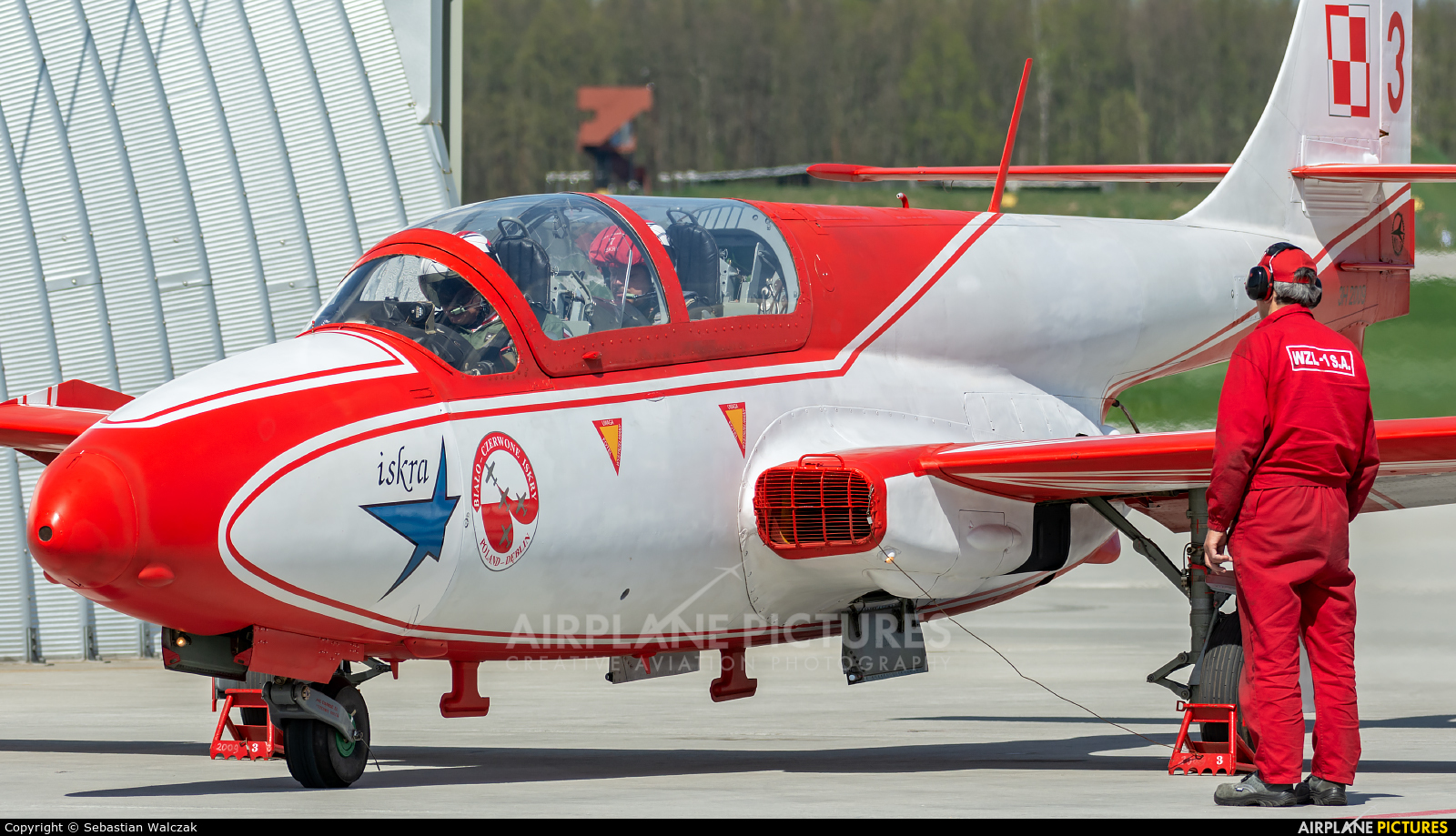 Poland - Air Force: White & Red Iskras 3H2009 aircraft at Dęblin