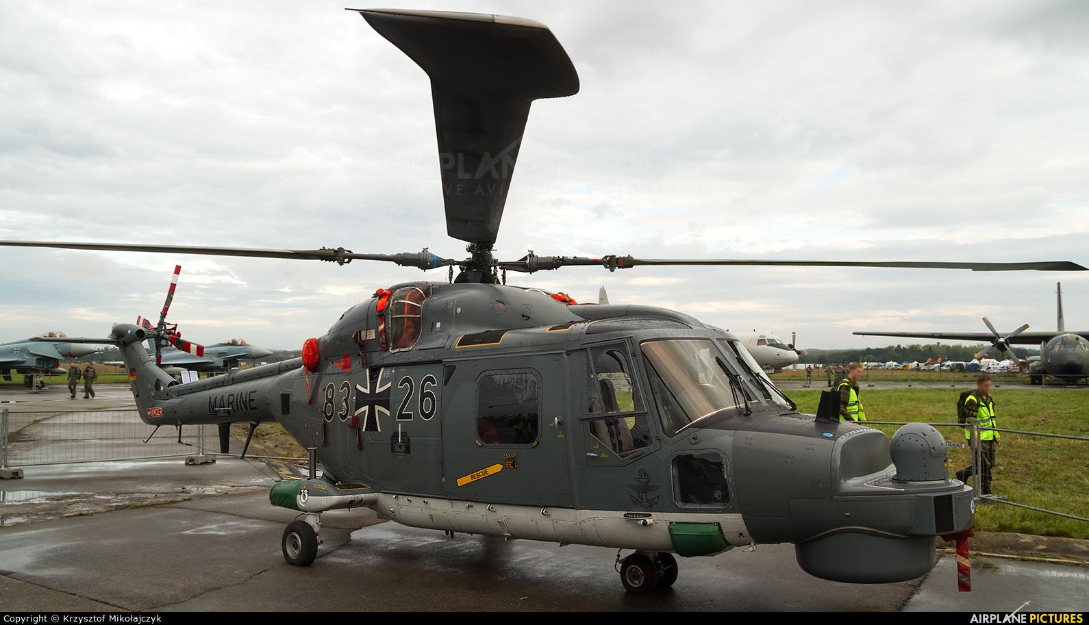 Germany - Navy 83+26 aircraft at Ostrava Mošnov