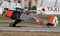 EC-FUU - Fundació Parc Aeronàutic de Catalunya Casa 1.131E Jungman aircraft