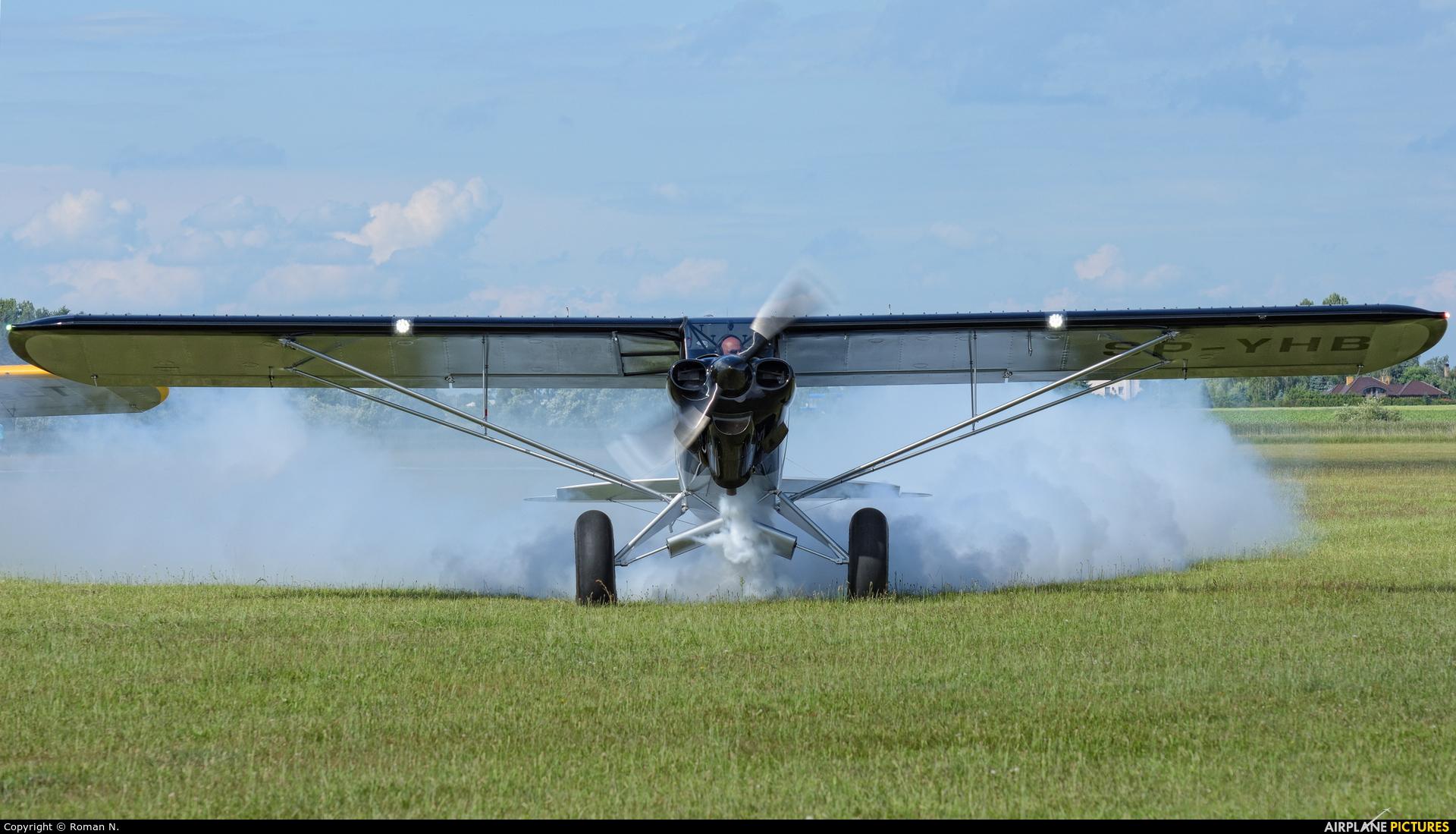Private SP-YHB aircraft at Leszno - Strzyżewice