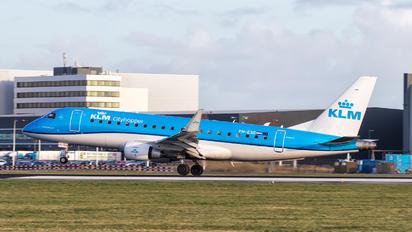 PH-EXO - KLM Cityhopper Embraer ERJ-175 (170-200)