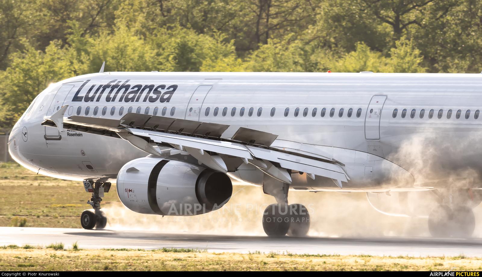 Lufthansa D-AISP aircraft at Frankfurt