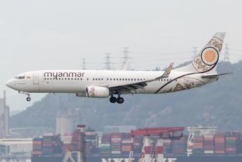 XY-ALB - Myanma Airways Boeing 737-800