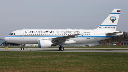 9K-GEA - Kuwait - Government Airbus A319 CJ