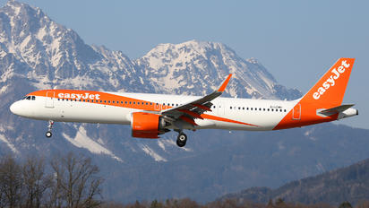 G-UZMD - easyJet Airbus A321 NEO