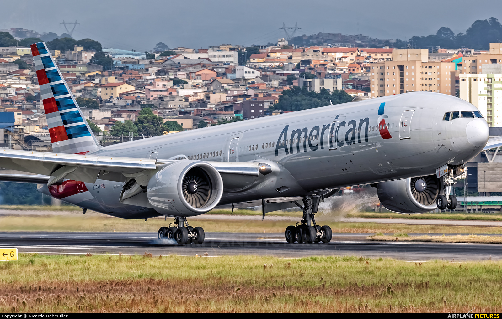 American Airlines N717AN aircraft at São Paulo - Guarulhos