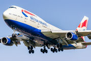 G-CIVU - British Airways Boeing 747-400 aircraft