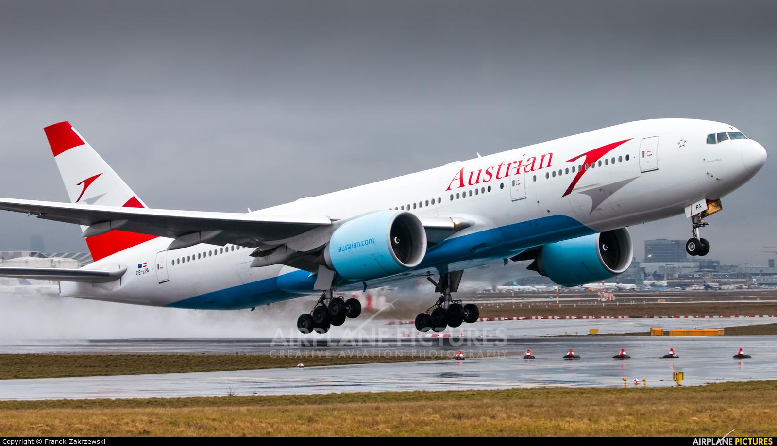 Austrian Airlines/Arrows/Tyrolean OE-LPA aircraft at Frankfurt