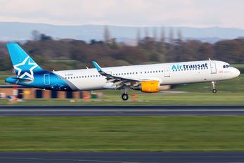 C-GXTO - Air Transat Airbus A321